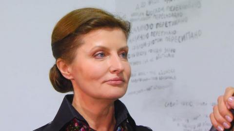 """Перша леді Марина Порошенко з'явилася разом зі своїми дітьми на каналі """"Україна""""(ВІДЕО)"""