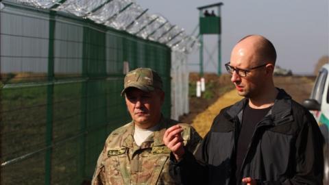 Прикордонники відзвітувались про будівництво «Стіни» на кордоні з РФ