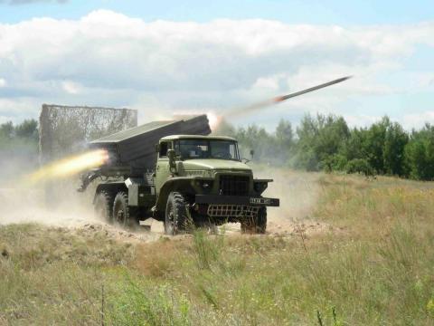 Бойовики продовжують застосовувати реактивну артилерію