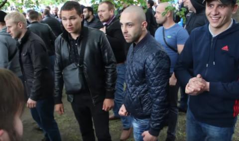 """Силовики затримали у Дніпрі ще одного """"тітушку"""", який брав участь у побитті ветеранів АТО"""