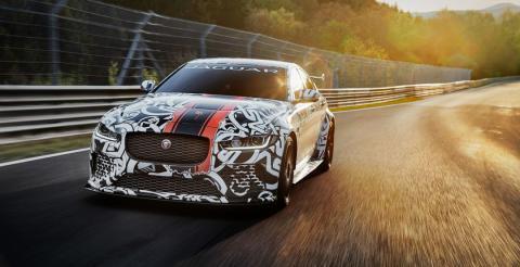 Jaguar розсекретив потужний седан XE SV Project 8 (ВІДЕО)