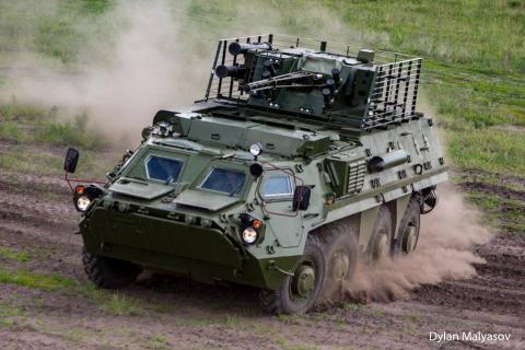 На Харківщині показали вдосконалені бронемашини для ЗСУ (ФОТО+ВІДЕО)