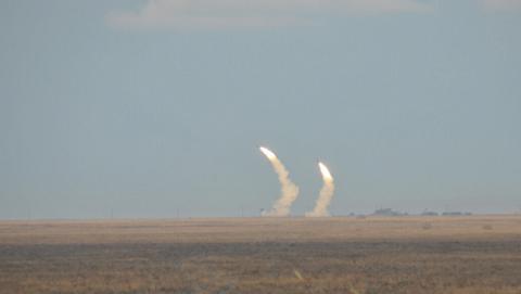 В Україні випробували нову ракету (ВІДЕО)