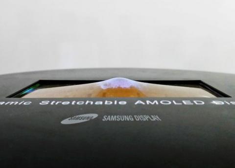 Samsung показав повністю гнучкий дисплей (ФОТО)