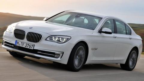 Через дефекти буде відкликано 45 тисяч BMW 7-ї серії