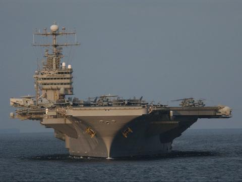 США направили третю ударну авіаносну групу до берегів КНДР