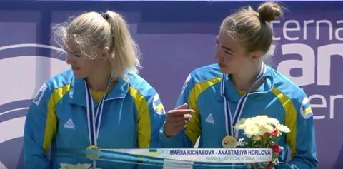 Українські веслувальниці здобули «золото» на другому етапі Кубка світу