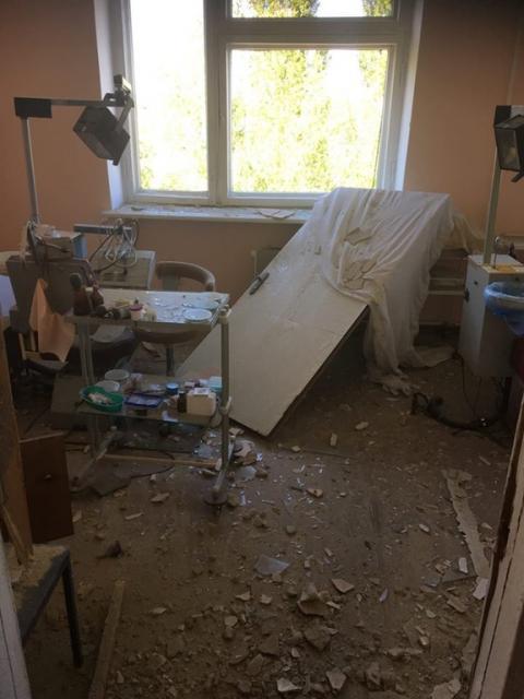В поліції показали результати обстрілу Красногорівки (ФОТО)