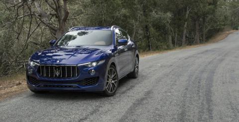 У Мережі розсекретили новий потужний кросовер Maserati Levante