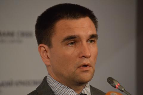 Клімкін розповів, що ОБСЄ впливає на припинення вогню на Донбасі