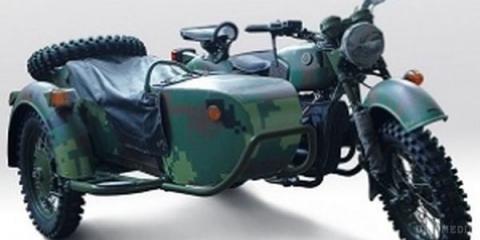 В Україні створили потужний військовий мотоцикл «Дніпро-16М»