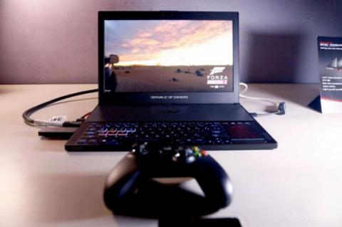 ASUS і NVIDIA готують до виходу тонкий ігровий ноутбук