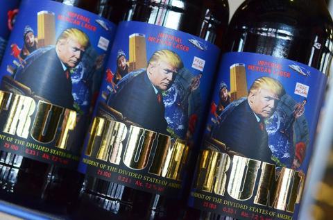 У Львові випустили цікаве пиво з Трампом (ФОТО)