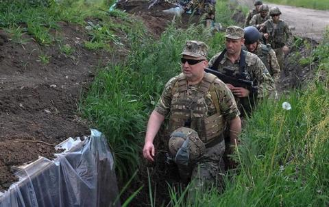 Турчинов заявив, що після захоплення Москви закінчиться війна на Донбасі (ВІДЕО)