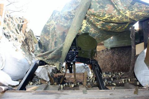 Українські військові зайняли нові позиції на передовій (ФОТО)