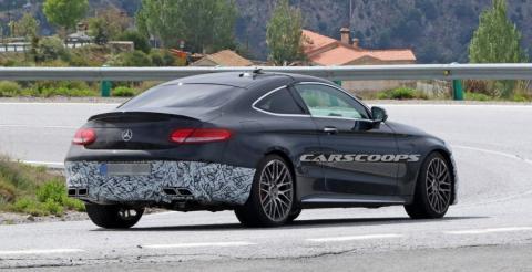 Mercedes протестував оновлене купе C63 Coupe (ФОТО)