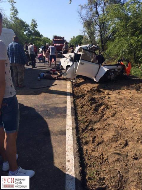 Смертоносне ДТП: на Одещині загинуло чотири особи (ФОТО)