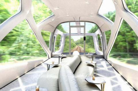 Найрозкішніший поїзд в світі (ФОТО)