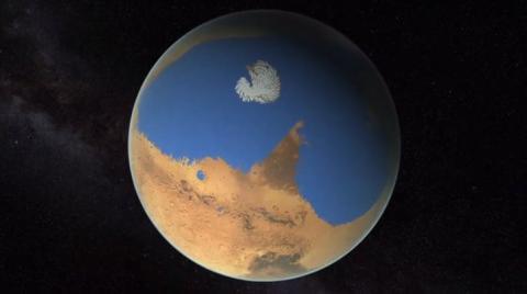 Доведено існування гігантського стародавнього океану на Марсі