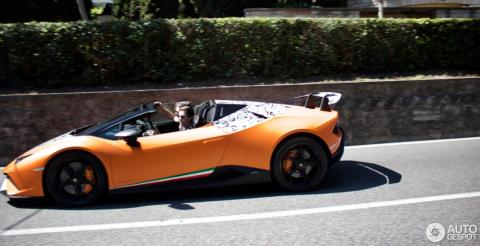 Журналісти розсекретили новий родстер Lamborghini Huracan (ФОТО)