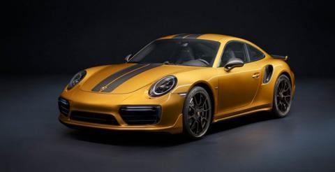 Porsche презентував унікальне купе 911 Turbo S