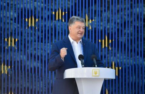 Україна буде в НАТО і Євросоюзі, - Порошенко