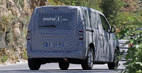 У Мережі розсекретили прототип Peugeot Partner (ФОТО)