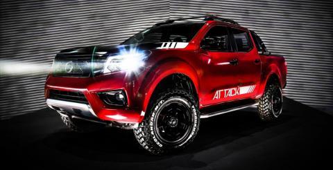 Nissan презентував концептуальний пікап Frontier Attack (ФОТО)