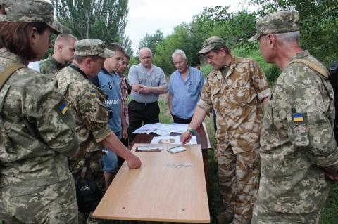 Військові підбили підсумки підготовки активістів територіальної оборони (ФОТО)