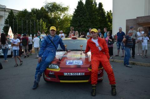 Екіпаж Прушиньскі про участь у перегонах ралі Умань