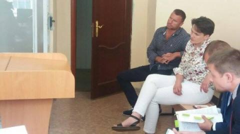 Савченко в суді виступила на захист Онищенка