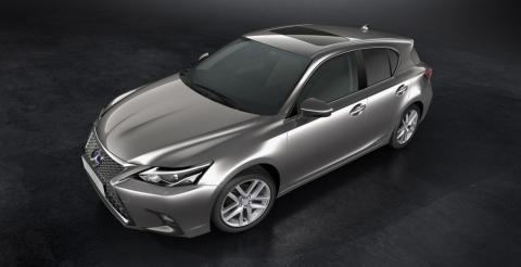 Lexus презентував оновлений гібридний хетчбек CT 200h (ФОТО)