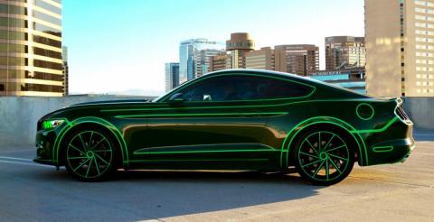 У США створили унікальний Ford Mustang (ФОТО)