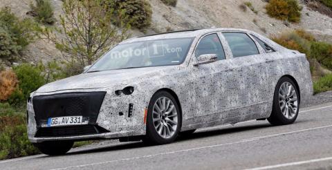 Cadillac протестував оновлений седан CT6 (ФОТО)