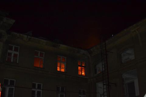 Стали відомі подробиці пожежі в міністерстві оборони (ФОТО)