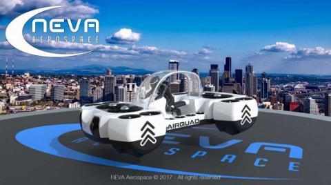 Компанія Neva Aerospace представила літаючий «квадроцикл»