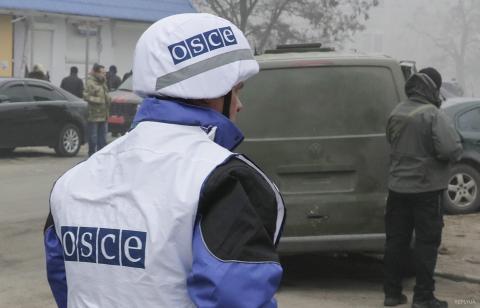 На Донбасі терористи напали на спостерігачів ОБСЄ
