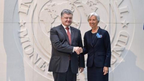 Порошенко провів зустріч з очільником МВФ