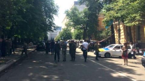 Бійці добровольчого батальйону перекрили центр Києва (ФОТО)