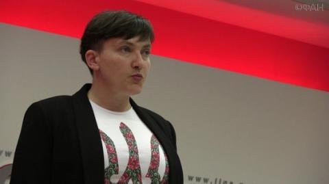 Надія Савченко прокоментувала візит Порошенка до США