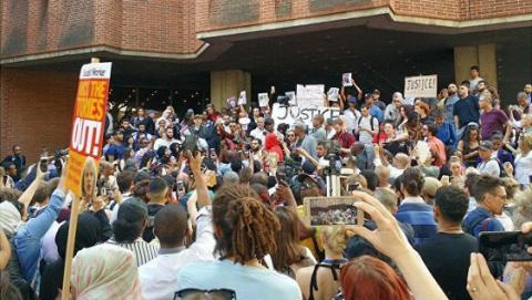 У Лондоні на акції протесту сталася бійка