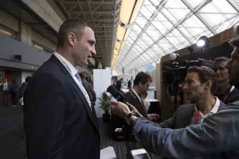 Віталій Кличко презентував Київ на Конгресі Всесвітньої асоціації мегаполісів (ФОТО)