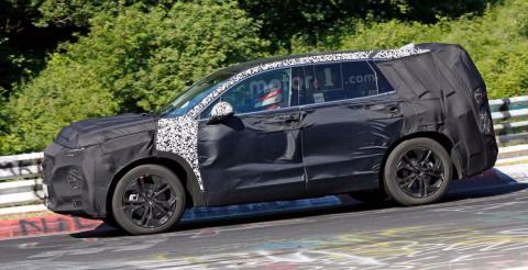 Hyundai протестував нову модель Santa Fe (ФОТО)