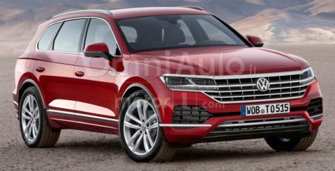 У Мережі з'явився рендер нового VW Touareg