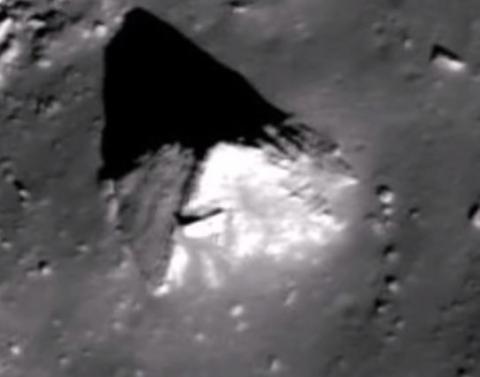 Уфологи помітили на Місяці піраміду (ВІДЕО)