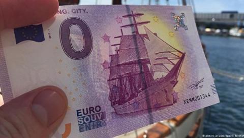 У Німеччині випустили банкноту номіналом 0 євро (ФОТО)