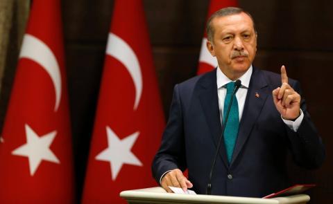 Ердоган виступив з критикую політики арабських країн