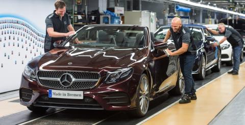 Mercedes-Benz розпочав серійний випуск кабріолету E-Class (ФОТО)