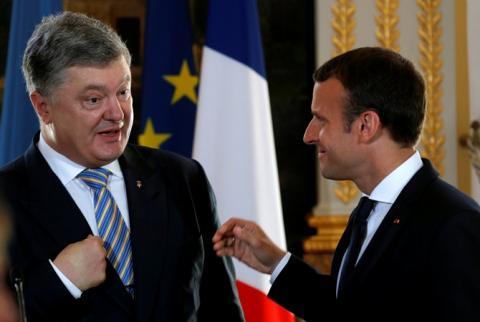 Президент України розповів про головне досягнення зустрічі з Макроном