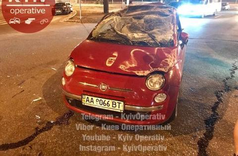 В Києві сталася масштабна аварія
